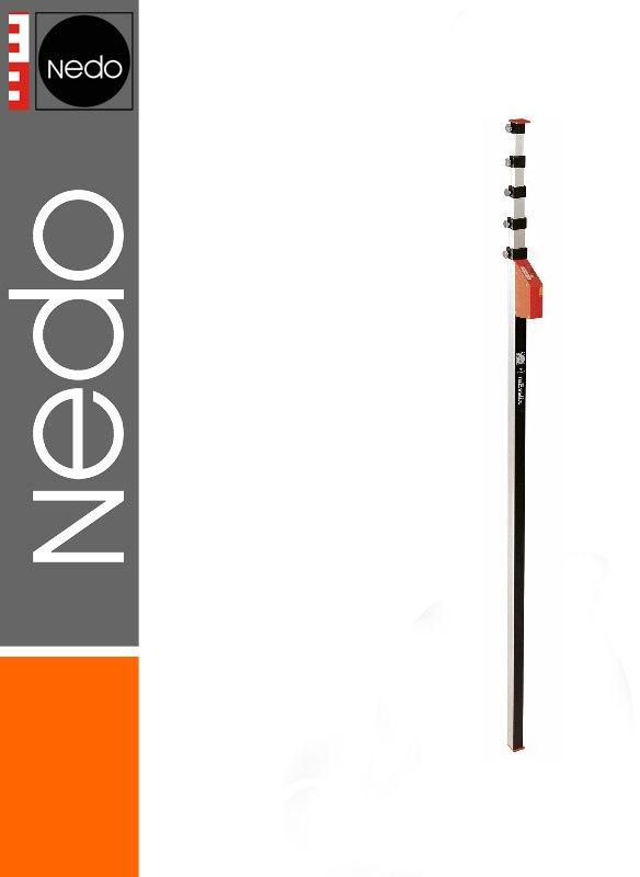 Przymiar teleskopowy 1,53-8,00m mEssfix-S NEDO
