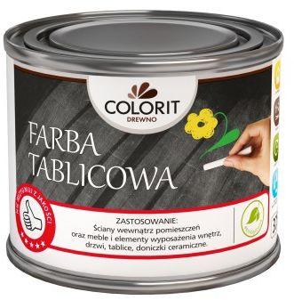 Colorit Farba Tablicowa Czarny 500ml