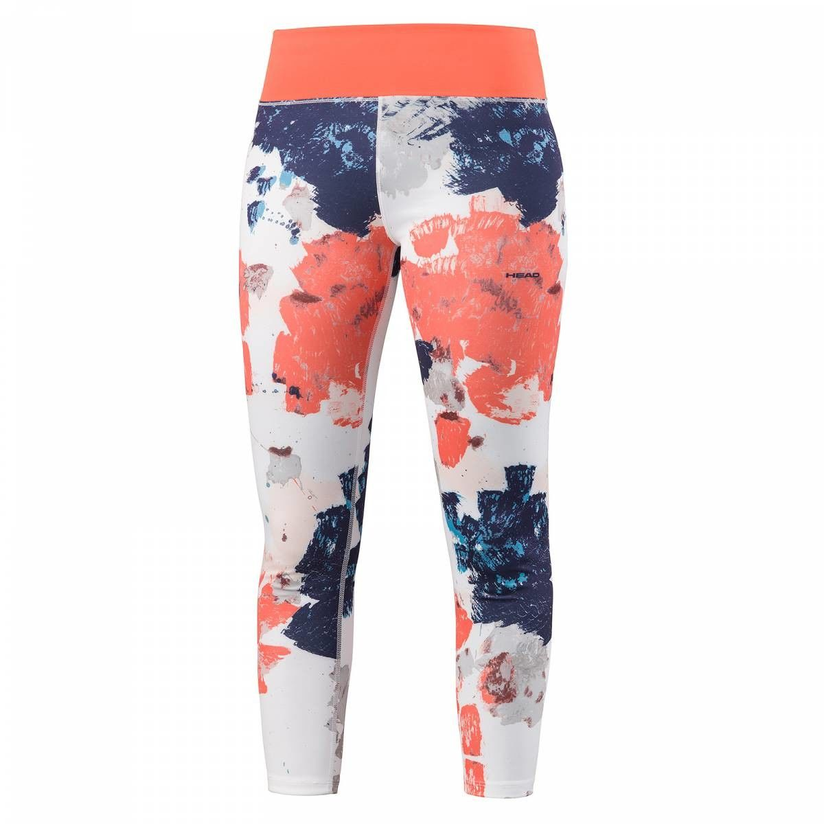 Head Vision Graphic 7/8 Pant W - white/coral
