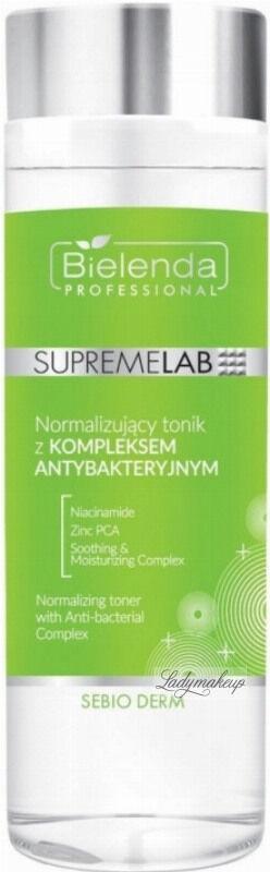 Bielenda Professional - SUPREMELAB - Sebio Derm - Normalizing Toner With Anti-bacterial Complex - Normalizujący tonik z kompleksem antybakteryjnym - 200 ml