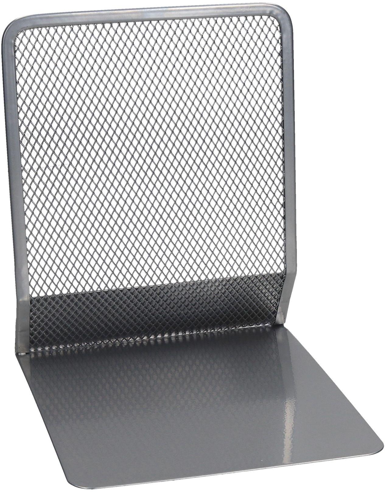 Podpórka książek siatka srebrna 2szt. Net Z8100