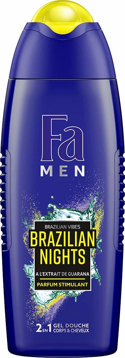 Fa Brazilian Nights męski żel pod prysznic z ekstraktem z Guarany, 250 ml