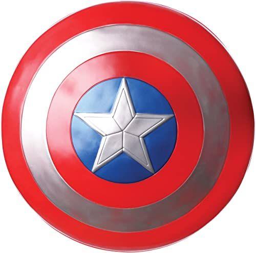 Rubie''s Official Marvel Avengers 61 cm Captain America Shield dorośli - jeden rozmiar akcesorium do kostiumu