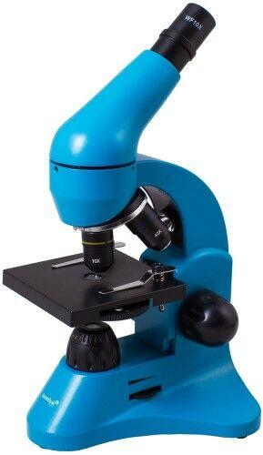 Mikroskop Levenhuk Rainbow 50L Azure Lazur