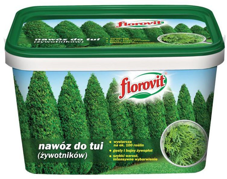 Nawóz do tui 4 kg FLOROVIT