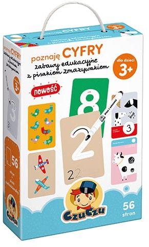 Poznaję Cyfry Zabawy Edukacyjne z Pisakiem Zmazywakiem