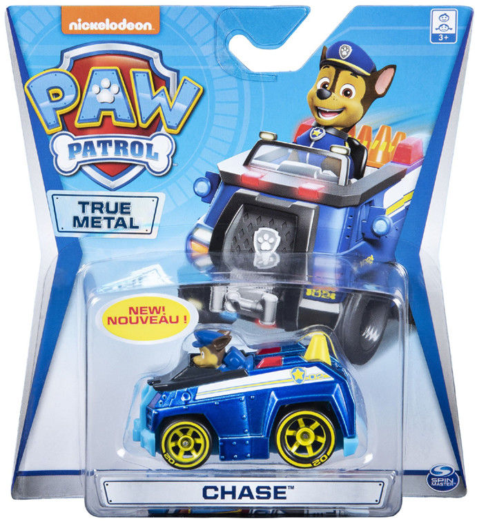 Psi Patrol - Chase i jego pojazd True Metal 20127211 6054830