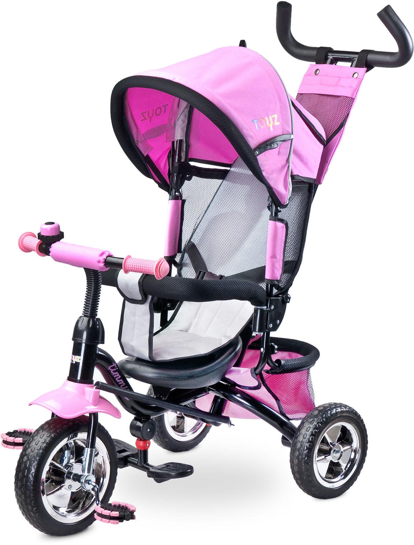 Caretero Timmy Toyz rowerek pink