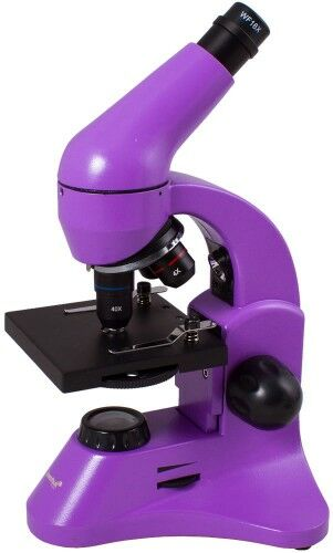Mikroskop Levenhuk Rainbow 50L PLUS Amethyst Ametyst
