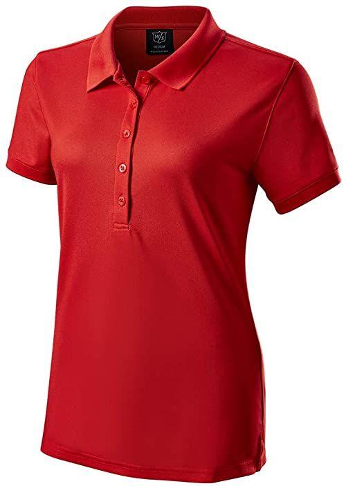 Wilson Damska koszulka polo Wilson Staff Autentic Polo Czerwony S