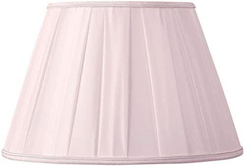 Klosz/plisa o klasycznym kształcie, Ø 20 x 12 x 14,5 cm, różowy