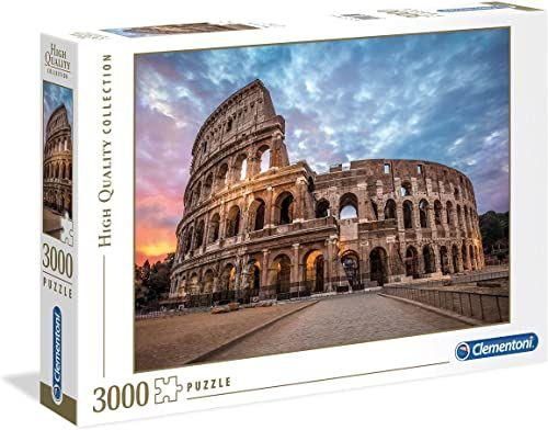 Clementoni 33548 HQC 3000 szt. Puzzle Koloseum wschód słońca