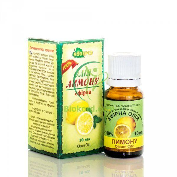 Olejek Cytrynowy, 100% Naturalny Adverso