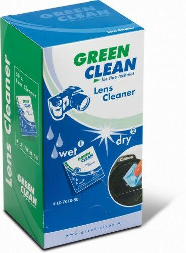 Green Clean Zestaw ściereczki mokra + sucha - 50 kpl. GCLC-7010-50