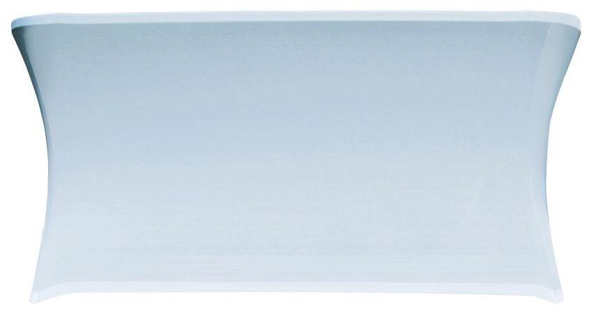 Pokrowiec na stół 180 cm biały