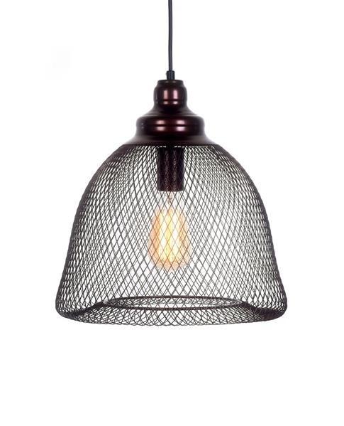 Lumina Deco Hilston brązowa lampa wisząca