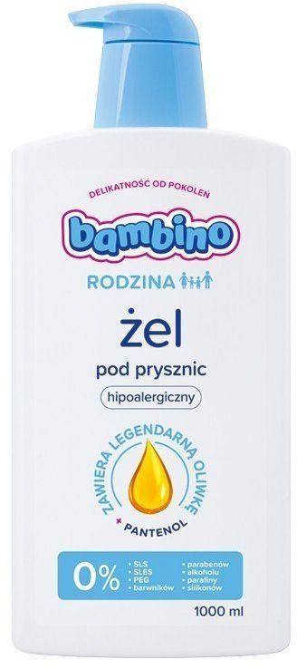 Bambino Bambino Rodzina Żel pod prysznic hipoalergiczny 1000ml