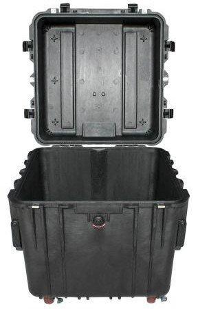 Peli 0340 bez gąbki - wodoodporna, pancerna skrzynia transportowa