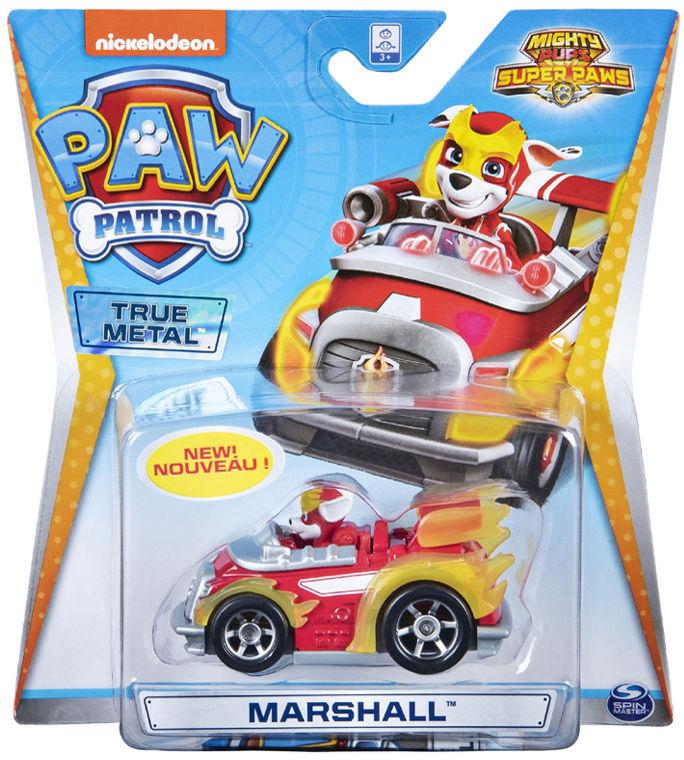 Psi Patrol - Marshall i jego pojazd True Metal 20127207 6054830