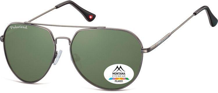 Pilotki okulary aviator Montana MP90A polaryzacyjne