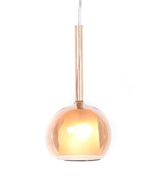 Lumina Deco Priola złota nowoczesna lampa wisząca