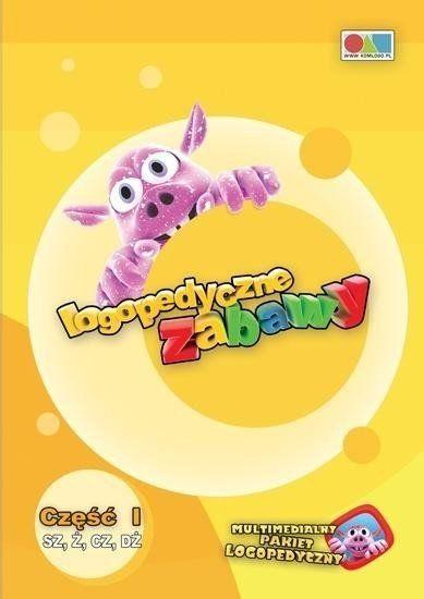 Logopedyczne Zabawy cz.1 Sz, ż, cz, dż (program) - KOMLOGO
