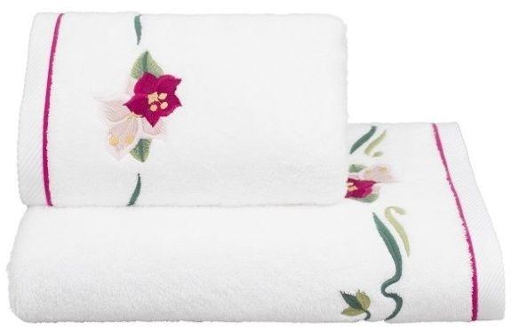 Ręcznik kąpielowy LILY 85x150 cm Biały