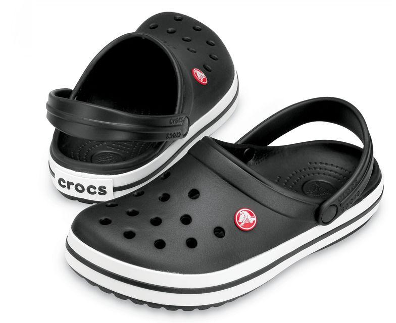 Klapki CROCS Crocband Black czarne 11016001