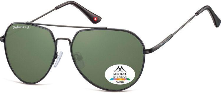 Pilotki okulary aviatory Montana MP90C polaryzacyjne