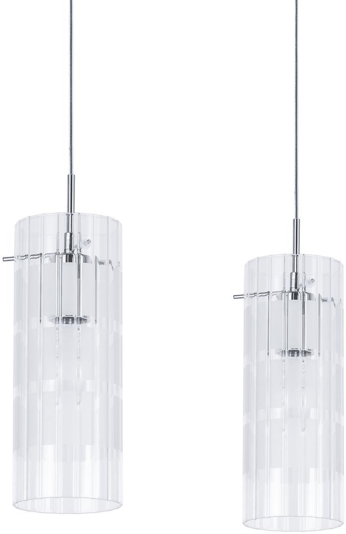 Italux lampa wisząca Max MDM1957-2 chrom podwójna