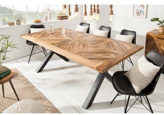 Stół drewniany Tifan 160 natur