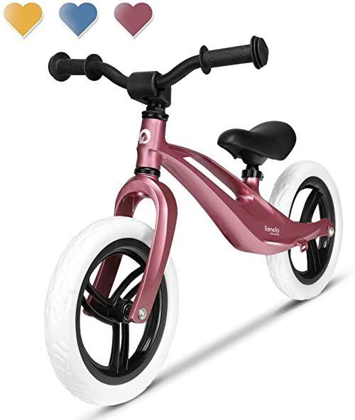 LIONELO Bart rowerek biegowy do 30kg, piankowe koła EVA, magnezowa rama, wyprofilowany podnóżek, antypoślizgowe nakładki, uchwyt do przenoszenia, miękka struktura