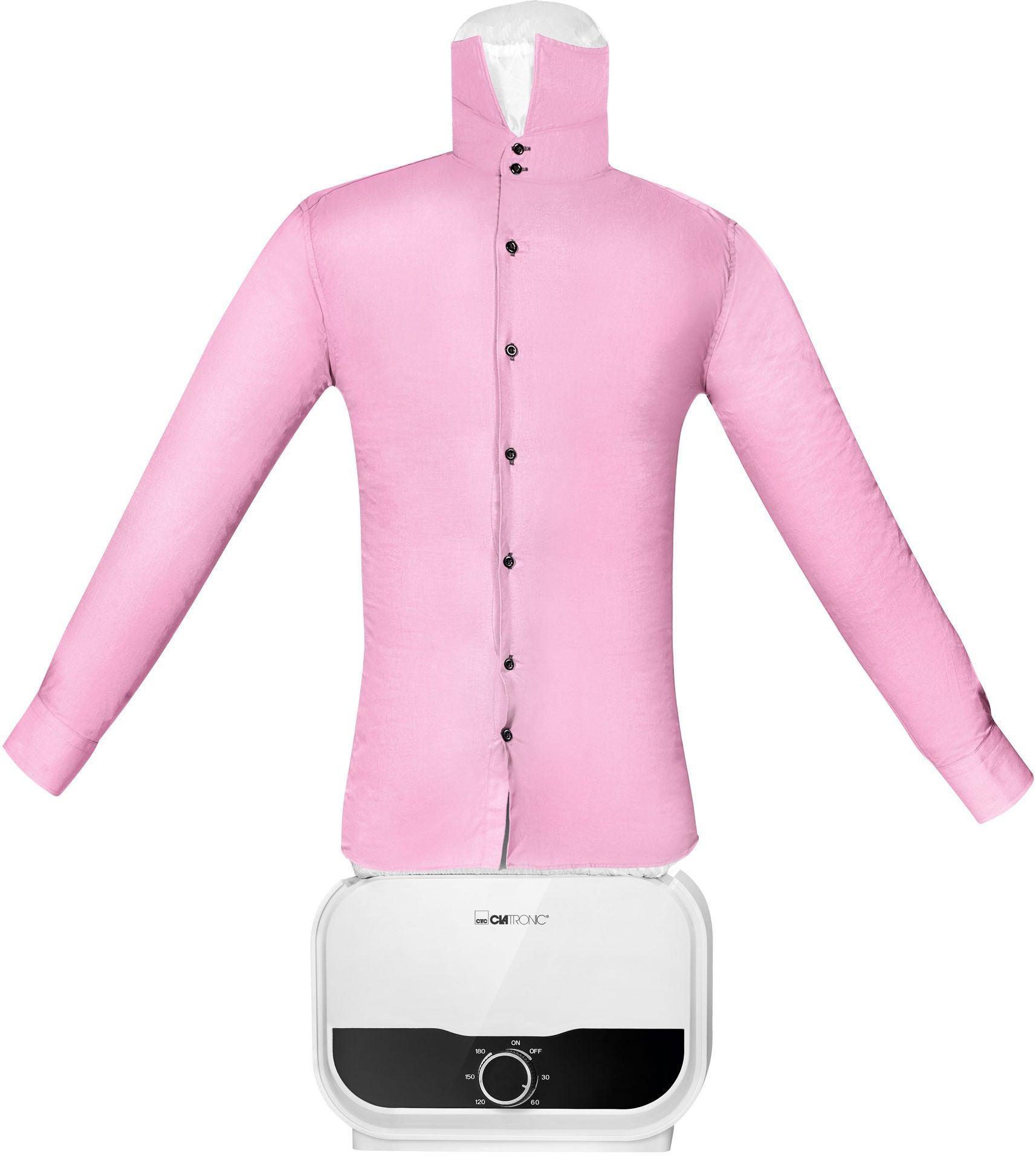 Prasowalnica do koszul i spodni, manekin do prasowania i suszenia Clatronic HBB 3734