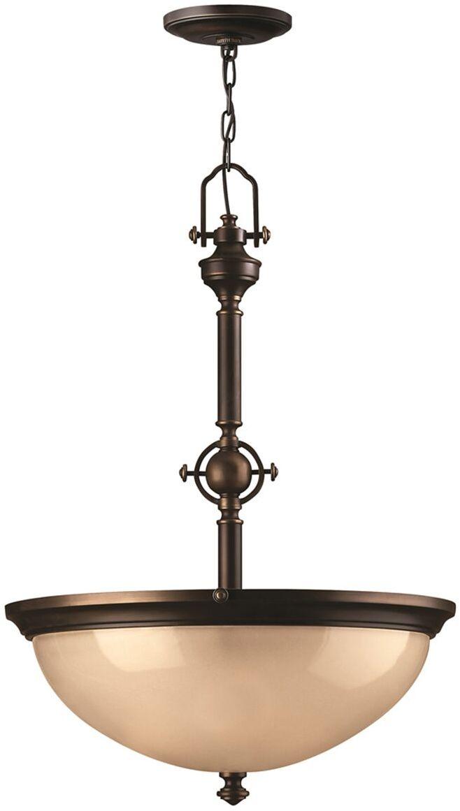 Lampa wisząca Mayflower HK/MAYFLOWER/P/C Hinkley pojedyncza oprawa w klasycznym stylu