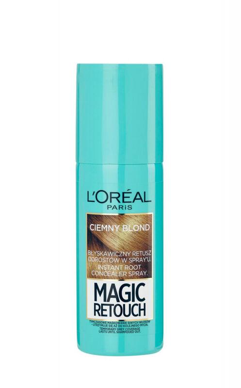 L''Oréal - MAGIC RETOUCH - Spray do błyskawicznego retuszu odrostów - CIEMNY BLOND