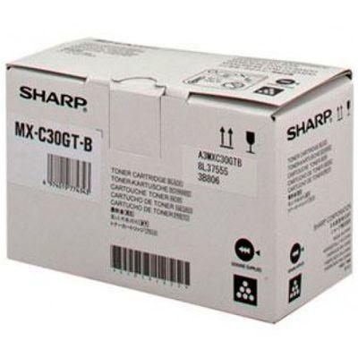 Toner Oryginalny Sharp MX-C30GTB (MX-C30GTB) (Czarny) - DARMOWA DOSTAWA w 24h