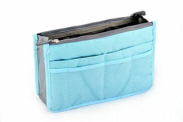 Organizer do torebki - niebieski