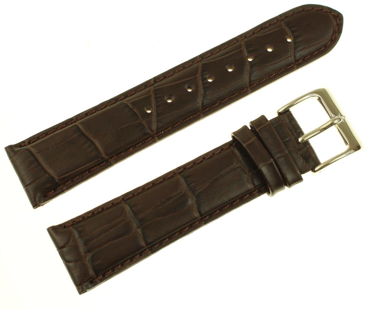 Pasek do zegarka Atlantic 22 mm brązowy