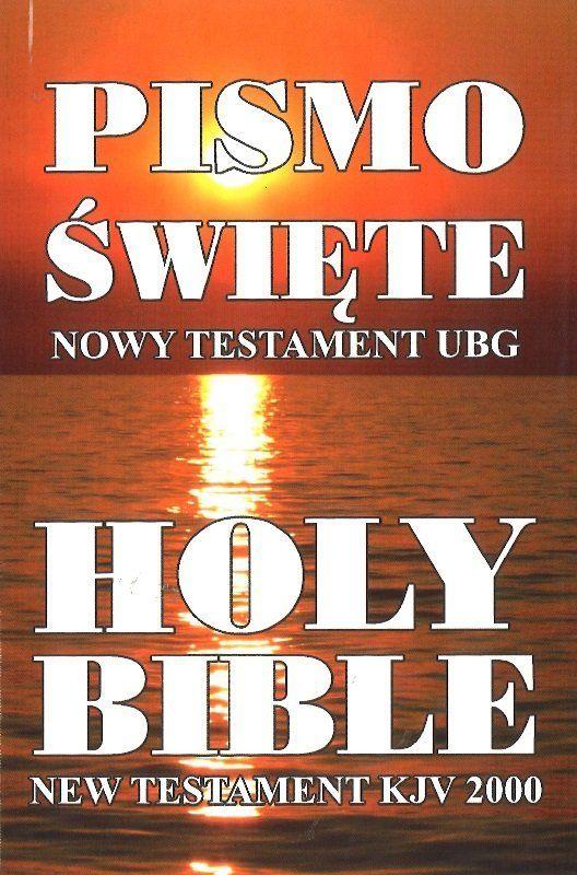 Nowy Testament polsko-angielski Uwspółcześniona Biblia Gdańska UBG-KJV