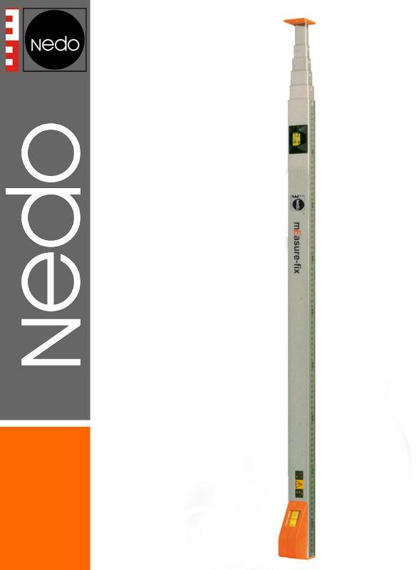 Przymiar teleskopowy podział mm/cale 1,07-5,00m mEssfix NEDO
