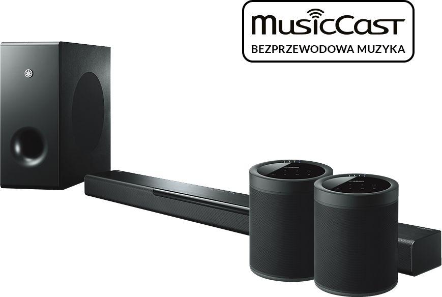 MusicCast BAR 400 (czarny) + 2x MusicCast 20 (czarny)  SALONY FIRMOWE W 14 MIASTACH  26 LAT NA RYNKU  DOSTAWA 0 zł  ODBIÓR OSOBISTY