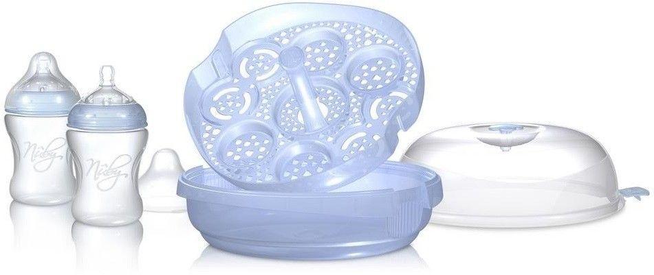 Sterylizator mikrofalowy butelek dla niemowląt