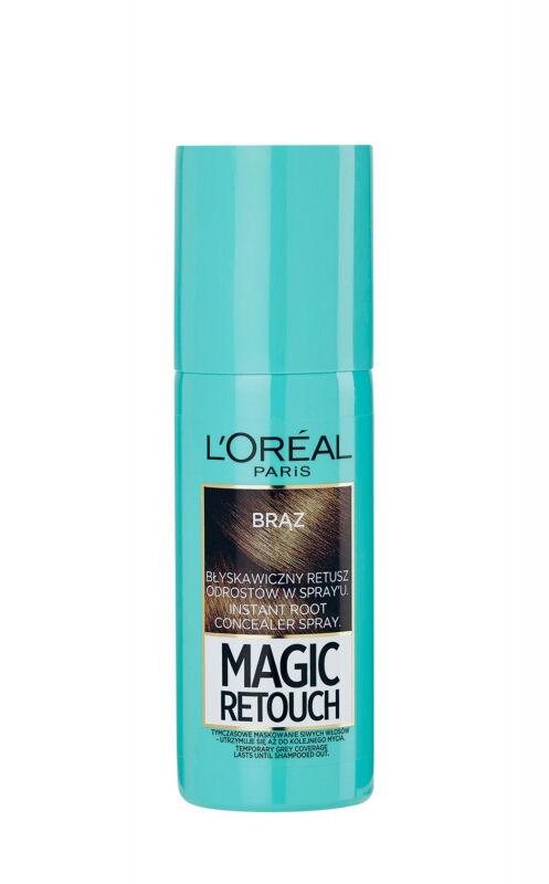 L''Oréal - MAGIC RETOUCH - Spray do błyskawicznego retuszu odrostów - BRĄZ