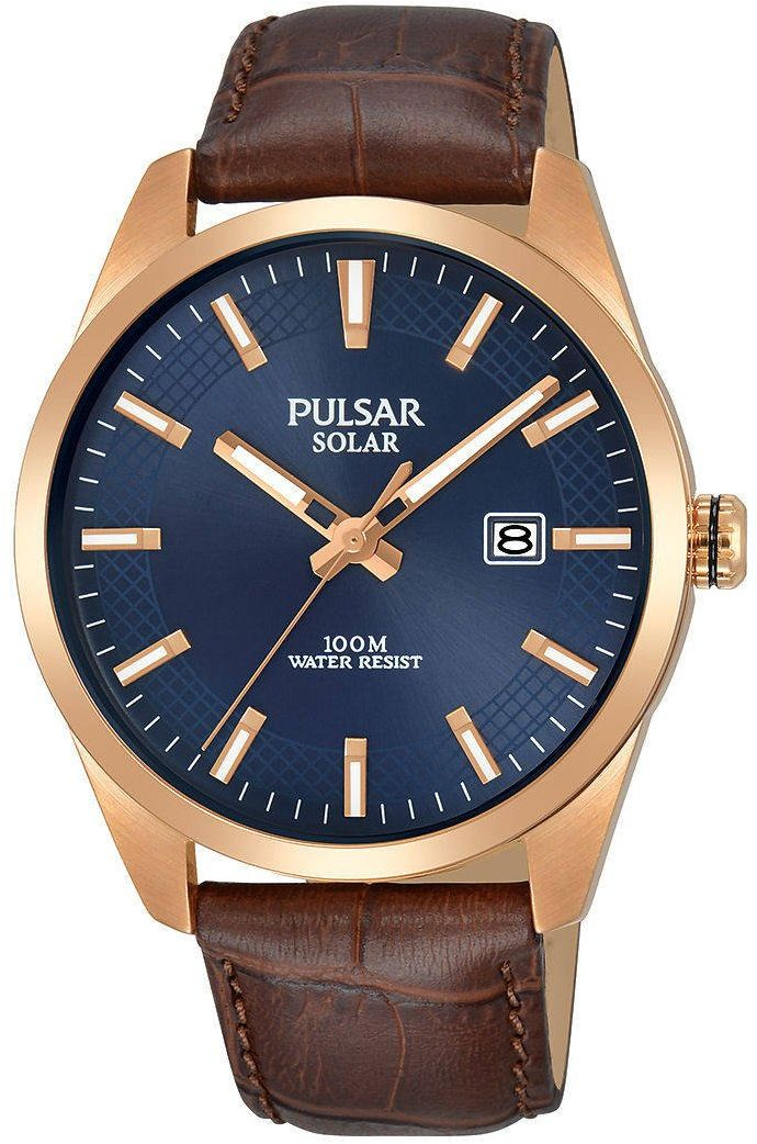 Zegarek Pulsar Solar męski klasyczny PX3186X1