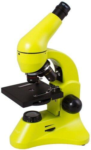Mikroskop Levenhuk Rainbow 50L PLUS Lime Limonka