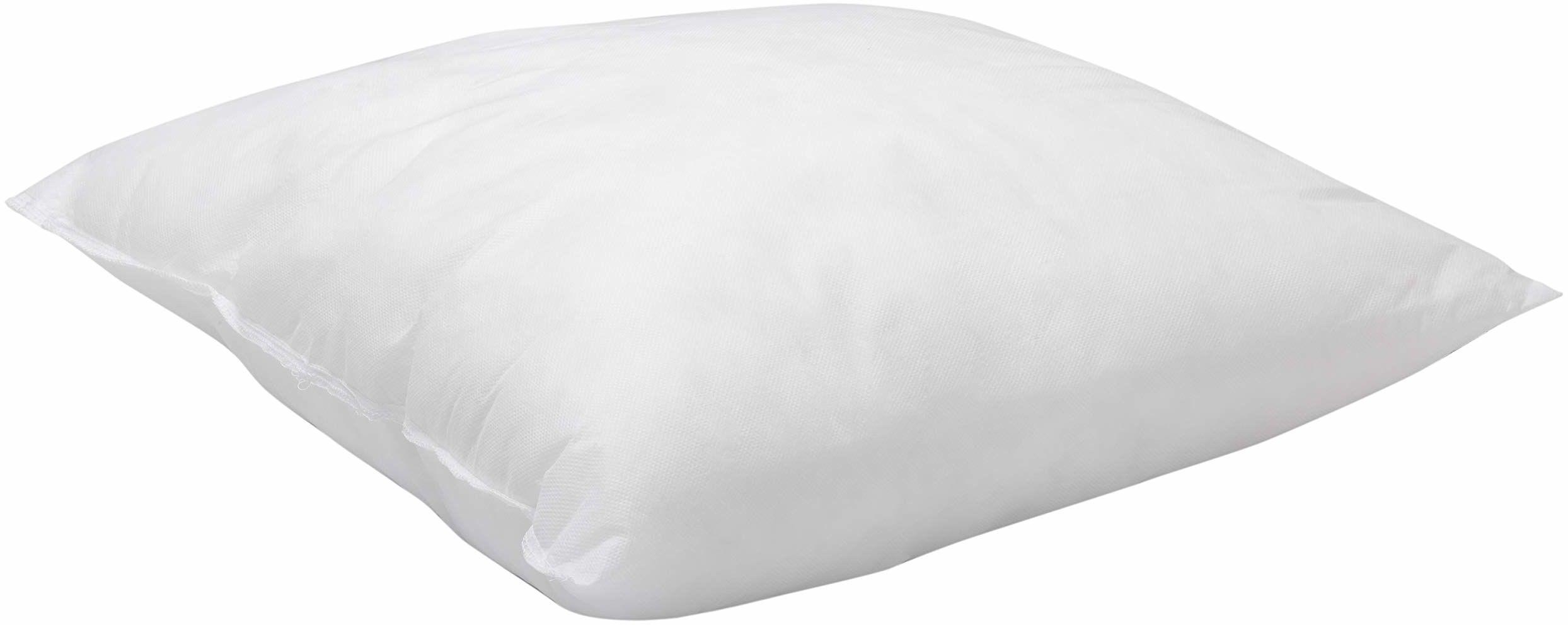 Pikolin Home - hypoalergiczna kwadratowa poduszka z włókna szklanego, średnia wytrzymałość, 60 x 60 cm, wysokość 16 cm