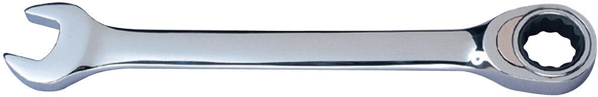 Klucz płasko-oczkowy z grzechotką, 17 mm [k]