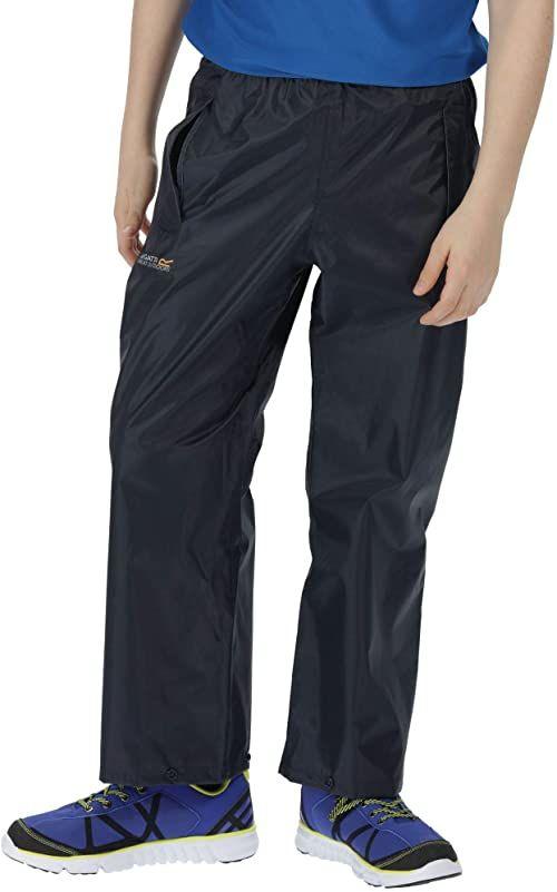 Regatta Kids Stormbreak spodnie granatowy 3-4 Years