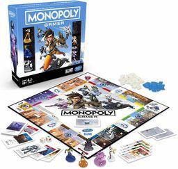 Hasbro Gaming E6291100 Monopoly gra planszowa dla graczy w gry planszowej od 13 lat prezent dla graczy Overwatch