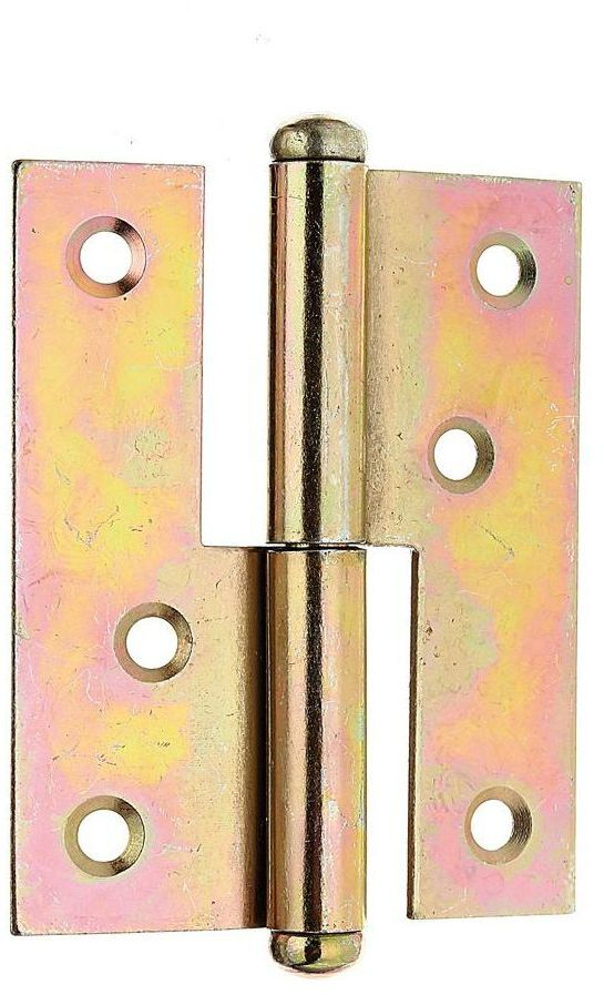 Zawias wyciągany prawy 80 x 65 mm przykręcany ocynkowany